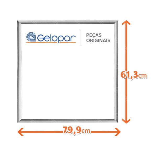 Medidas Borracha Freezer Horizontal Gelopar GHBA-220 e GHBA-510