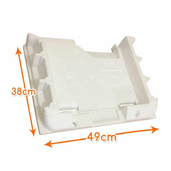 Medidas Isopor Evaporador Geladeiras Bosch e Continental Moderno - 710191