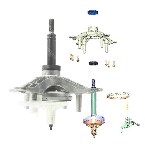 Kit Mecanismo Lavadoras Brastemp Consul, BWD,BWH, BWK, BWN, BWS, CWE e CWL - W10889404