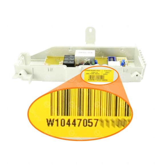 Código Placa Potência Lavadora Roupa Brastemp BWG11 220v - W10447057