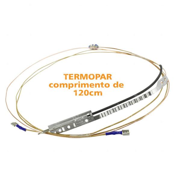 Termopar 1200mm Universal para Fogão e Fornos - W10891926