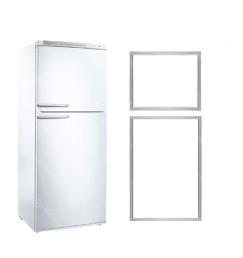 Jogo de Borracha gaxeta Geladeira refrigerador Bosch Ksv36