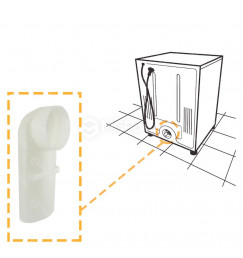 Duto Defletor de Ar das Secadoras Brastemp Compacta BSI, BSR e BSX - 55208