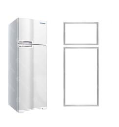 Jogo de Borrachas Gaxeta refrigerador Geladeira Continental Rc34, Rdn36, Rdn37, Rdv37, Rsv35