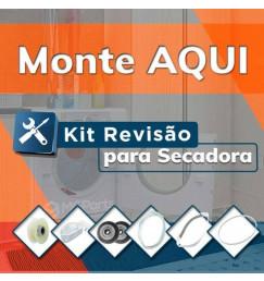 Monte Seu Kit de Peças para Revisar as Secadoras de Roupa Brastemp BSI, BSR, BSC e BSX
