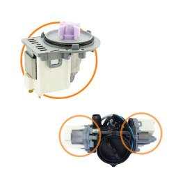 Kit Eletrobomba Drenagem e Reciclação Lava e Seca LG 220v
