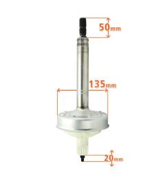 Mecanismo Original das Lavadoras Brastemp e Consul Bwh15, Bwk15 Bwn15, Bws15, CWE13 e CWE15 W11254865 - Original