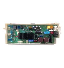 Placa Principal das Lava e Seca LG WD-1485AD e WD-C1485AD EBR64974331 127v - Original
