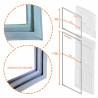 Dimensões do Jogo Borracha Dako Redk37 e Redk 38