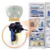 Motor Ventilador Geladeira Continental Bosch 710563 ou 710576 Original RCCT